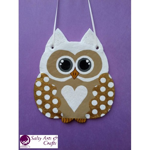Owl Decor   Owl Wall Hanging   Owl Wall Decor   Gold Owl Decor   Gold Owl  Nursery Decor   Polka ...