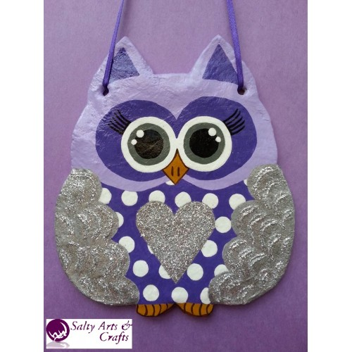 owl decor owl wall hanging owl wall decor silver owl decor silver nursery decor polka dot owl
